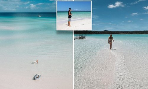 The 'uncrowded' paradise that looks like an iconic Aussie beach