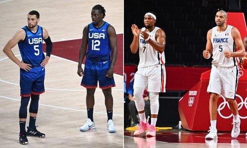 France beat men's United States Basketball team 83-76 at Tokyo 2020