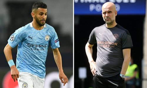 Manchester City 'keen to tie Riyad Mahrez down to a new contract'