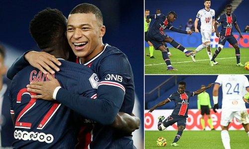 Paris Saint-Germain 4-0 Strasbourg: Kylian Mbappe scores in home win