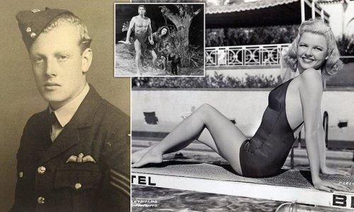 British WWII pilot met Hollywood stars including Marjorie Reynolds