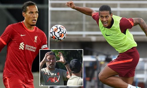 Virgil Van Dijk's attacking threat is key to the Reds' title challenge