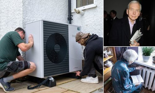 JOHN HUMPHRYS: My heat pump has me left in the cold