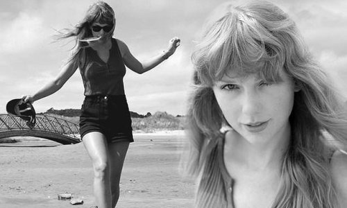Taylor Swift celebrates the one-year anniversary of her album Folklore