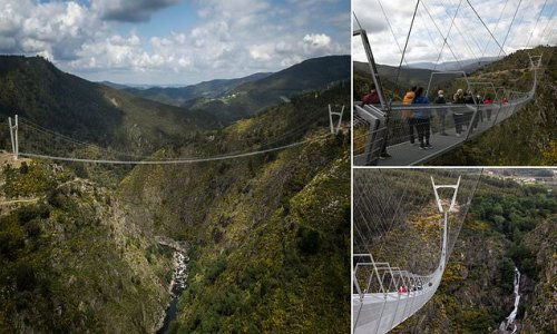World's longest pedestrian suspension bridge opens