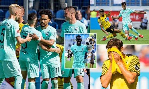Bochum lift MASSIVE trophy after beating Dortmund in PRE-SEASON win