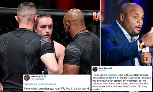 Cejudo and Cormier back coach who Tate slammed for 'ABUSE' in corner