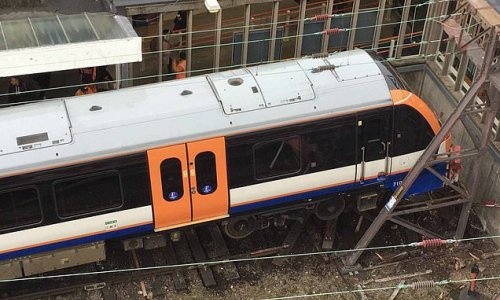 Train driver arrested after crash into station buffers 'on cocaine'