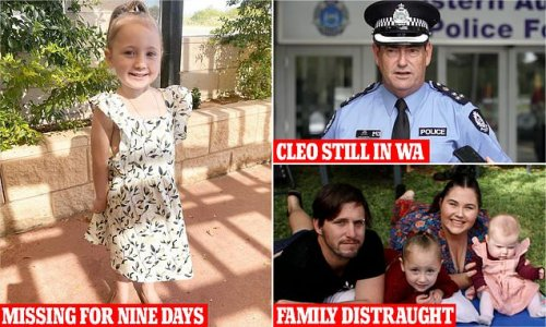 Top cop says he believes missing girl Cleo Smith still in WA