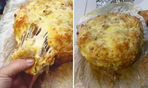 How to make a delicious cheese, bacon and garlic pull-apart