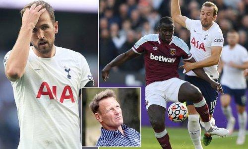 Harry Kane 'has the hump' at Tottenham, insists Teddy Sheringham