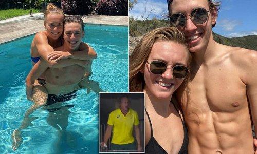 Ariarne Titmus' boyfriend is handsome swimmer Jacob Hansford