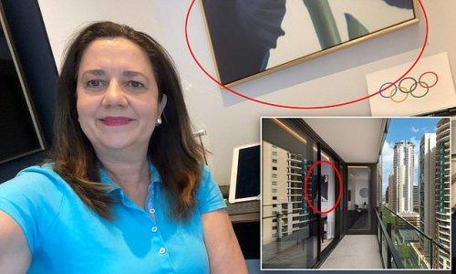Photo reveals Annastacia Palaszczuk doing hotel quarantine in luxury