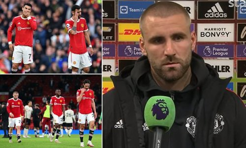 Shaw says Solskjaer is NOT to blame for Manchester United's woe