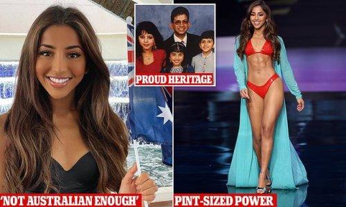Miss Universe Australia reveals vile comment about her appearance