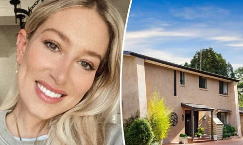 Phoebe Burgess' new home is just eight minutes from her parents' place