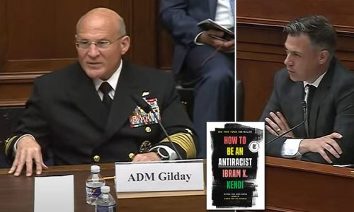 GOP lawmakers grill top US admiral over 'antiracist' reading list