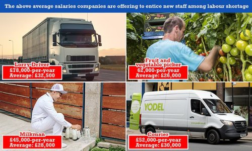 HGV firms offering £78,000-a-year in bid to entice more drivers