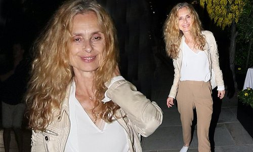 Former Bond Girl Maryam d'Abo, 60, looks as youthful as ever