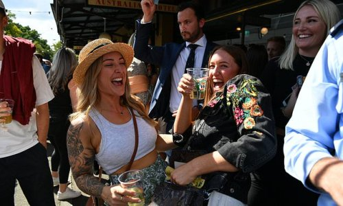 Rowdy Aussies enjoy a sun-soaked Anzac Day at pubs across the country