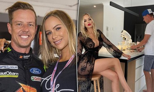 James Courtney mocked for posting raunchy photos with model girlfriend