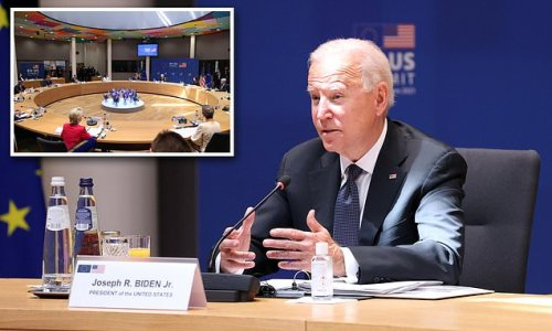 Biden says 'I'm going to get in trouble again' during EU summit