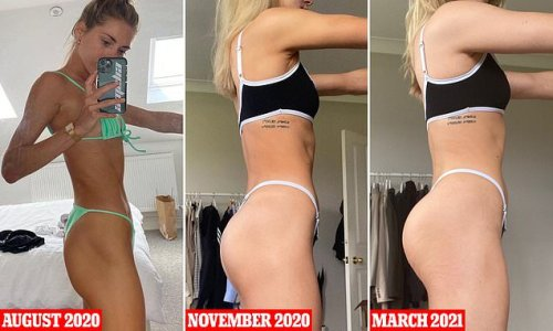 Woman reveals how she transformed her body in just FOUR weeks