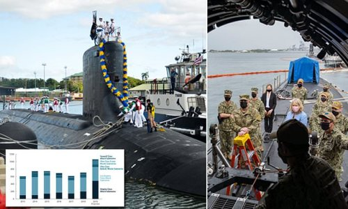 US Navy's new $166B submarine fleet hobbled by faulty parts