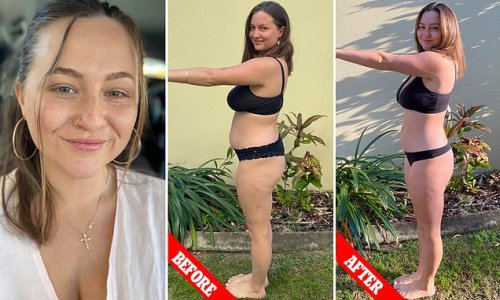 Mum-of-two shows off body transformation after six weeks of Pilates
