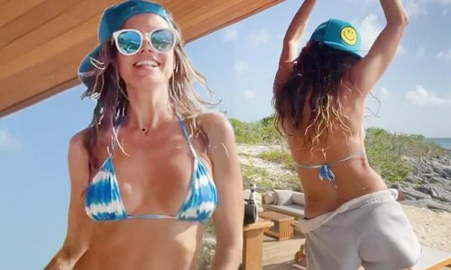 Heidi Klum flaunts stunning beach body as she dances in Instagram clip