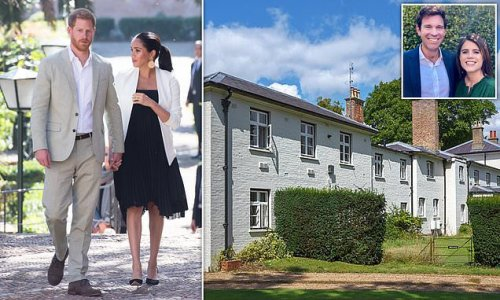Harry's possessions 'cleared out from Frogmore Cottage'