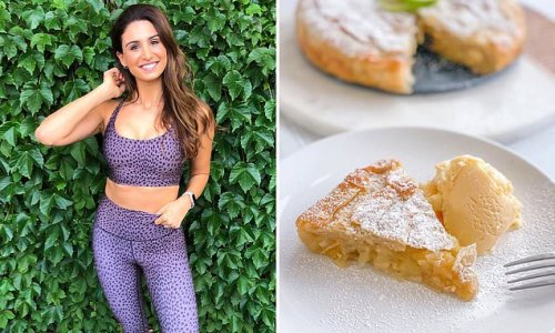 Teacher shares her simple recipe for filo pastry apple pie