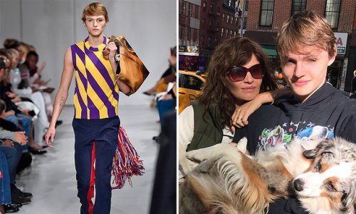 Helena Christensen's son charged for 'punching a woman in the face'