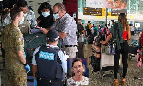 Health minister's blunt message to Queenslanders stranded interstate