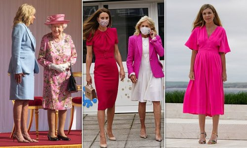 Kate Middleton's pink outfits signal she's ready to 'forge ahead'