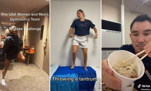 Team USA athletes reveal what it's like inside the Olympic village