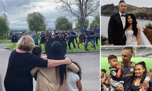 Moving moment haka is performed for All Blacks star killed in crash