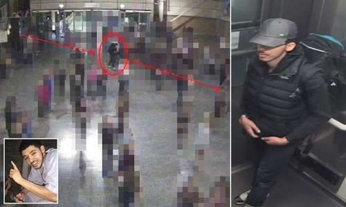Manchester Arena bomber Salman Abedi walked with a 'swagger'
