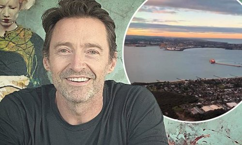 Hugh Jackman already into his second day of hotel quarantine in Sydney