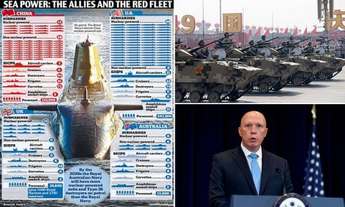Australia admits war with China is possible in wake of AUKUS pact