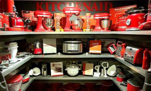 Mother wows the internet with her extraordinary KitchenAid collection