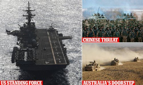US to build a standing force on Australia's doorstep to take on China