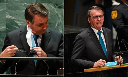 Bolsonaro BREAKS NYC mandate by entering UNGA unvaccinated