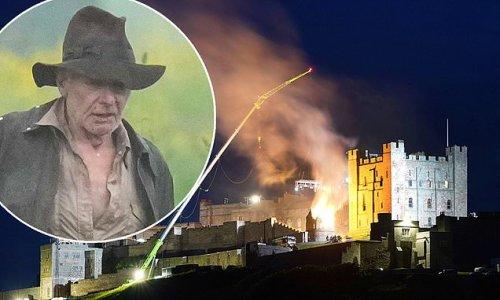 Indiana Jones 5: Enormous blaze lights the sky around Northumberland