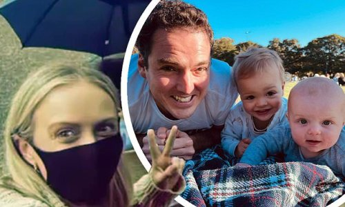 Sylvia Jeffreys picnics with her husband Peter and their sons