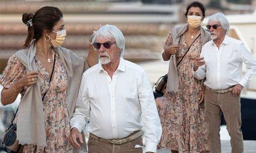 Bernie Ecclestone, 90, steps out with wife Fabiana Flosi, 44,