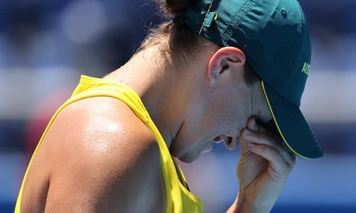 Ash Barty loses her doubles quarter final at Tokyo Olympics