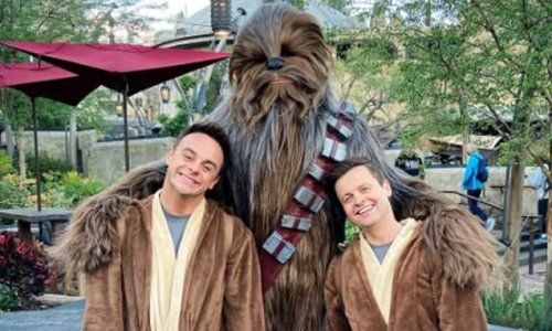 'May the 4th be with Chew!' Ant and Dec celebrate Star Wars day