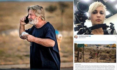 Alec Baldwin tweets attends memorial for cinematographer he shot