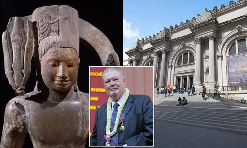 Met Museum spoke to US attorney about art stolen from ancient Cambodia